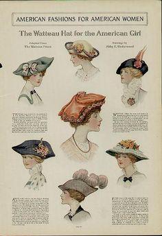 Hats 1910's