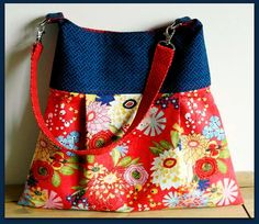 The Daisy Mae Pleated Handbag - PDF Sewing Pattern | Sew and Sell