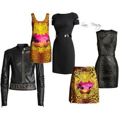 Versace for H&M by sara-elizabeth-feesey on Polyvore featuring polyvore, fashion, style and Diane Von Furstenberg