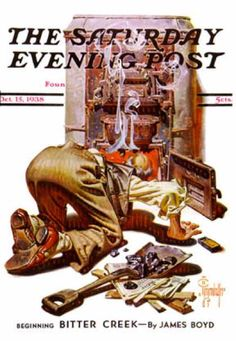 Saturday Evening Post, 1938 // by J.C. Leyendecker