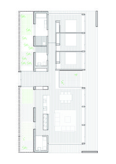 Image 1 of 6 from gallery of SIFERA House / Josep Camps & Olga Felip. Photograph by Pedro Pegenaute Modern House Plans, Small House Plans, House Floor Plans, The Plan, How To Plan, Architecture Design, Residential Architecture, Social Housing Architecture, Architecture Diagrams