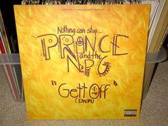 "Prince And The New Power Generation Gett Off 12"" Vinyl Paisley Park #uniqbeats #music #ebay"