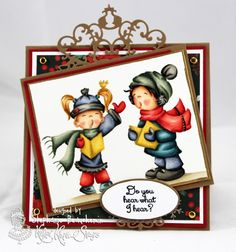 A World of Creative Possibilities: Making Cards Magazine : Angel Voices from Kraftin' Kimmie Stamps!