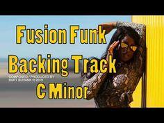 Fusion funk Backing Track C Minor Smooth Ballad Backing Tracks