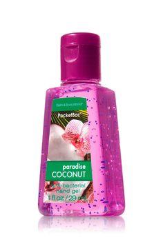 Bath and Body Works Products   Hand Gel Antibacterial Bath & Body Works 1oz paradise coconut