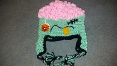 Zombie knitted hat