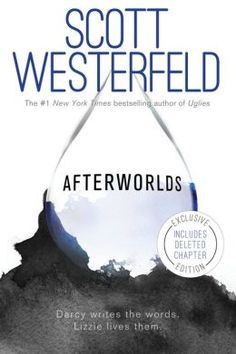 "Afterworlds / Scott Westerfeld. In alternating chapters, eighteen-year-old Darcy Patel navigates the New York City publishing world and Lizzie, the heroine of Darcy's novel, slips into the ""Afterworld"" to survive a terrorist attack and becomes a spirit guide, as both face many challenges and both fall in love. Link to library catalog: https://mplus.mnpals.net/vufind/Record/008259933"