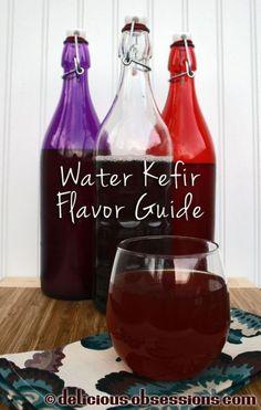 Water Kefir Flavor Guide