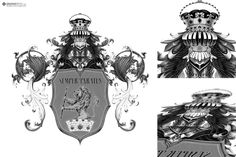 Coat of Arms Drawing