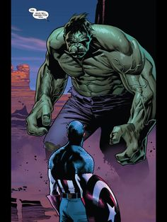 Hulk and Cap