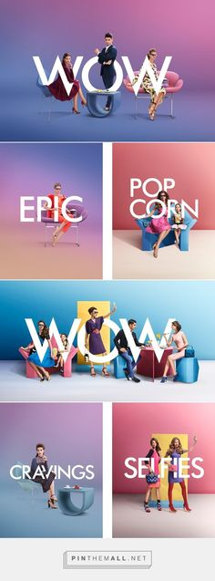 Mall of Emirates on Behance... - a grouped images picture - Pin Them All 색감이 너무 예쁘고 세련된 느낌