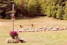 #Rustic #OutdoorCeremony #Ceremony #Weddings #WeddingPlanning #InspiredOccasions #DayOfCoordination
