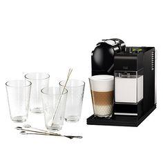 Buy Nespresso EN520 Lattissima Coffee Machine by De'Longhi Online at johnlewis.com GBP200 Coffee Machine, Coffee Maker, Small Appliances, John Lewis, Nespresso, Coffee Maker Machine, Coffeemaker, Tiny House Appliances, Espresso Machine