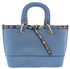 AMETHYST BLUE WOMEN'S HANDBAG ONLY $19.88