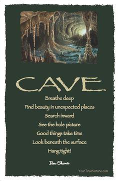 advice from a cave - Google zoeken