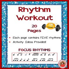 Music Worksheets: Music Rhythm Activities for Middle School