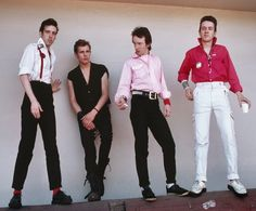 photomusik:  The Clash photographed by Roger Ressmeyer (1979)
