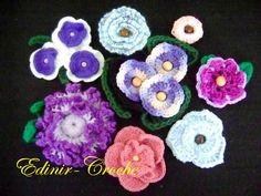 Crochet flowers!!