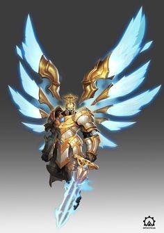 Fantasy Character Design, Character Design Inspiration, Character Concept, Character Art, Robot Concept Art, Armor Concept, Fantasy Armor, Dark Fantasy Art, Warcraft Art