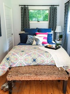Cheerful+Bedroom+Makeover