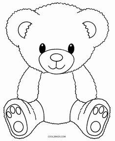 baby teddy bear Printable Teddy Bear Coloring Pages For Kids Teddy Bear Coloring Pages, Easy Coloring Pages, Cartoon Coloring Pages, Animal Coloring Pages, Coloring Pages To Print, Coloring Books, Kids Coloring, Coloring Sheets, Teddy Bear Outline