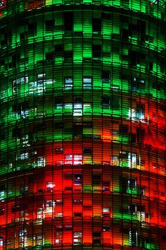 Torre Agbar, a great hotel soon, Barcelona,  Catalonia