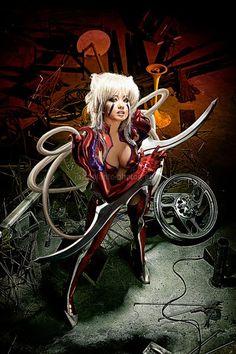 Alodia Gosiengfiao cosplay as Amaha Masane of Witchblade
