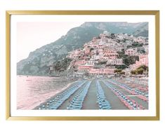 Positano Italy Photography Prints Wall Art Travel Living Room Decor Amalfi Coast