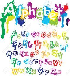 letras con dibujos - Buscar con Google