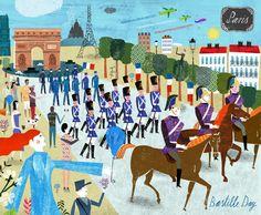 Martin Haake is represented by Lindgren Smith Illustration Royal Society Of Arts, Shangri La Hotel, Bastille Day, Fun Illustration, Penguin Books, Freelance Illustrator, Travel And Leisure, Folk Art, How To Draw Hands