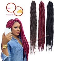 Hair Havana Mambo Twist Synthetic Crochet Hair Braiding Crochet Braid ...