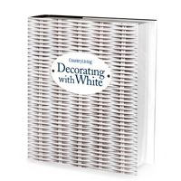 "Enter for a chance to win one a copy of our new ""Decorating With White"" book!"
