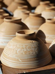 Korean pottery somewhere near Damyang, South Korea by XFlibble, via Flickr
