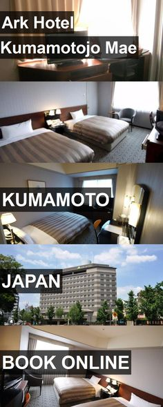 Ark Hotel Kumamotojo Mae in Kumamoto, Japan. For more information, photos, reviews and best prices please follow the link. #Japan #Kumamoto #travel #vacation #hotel
