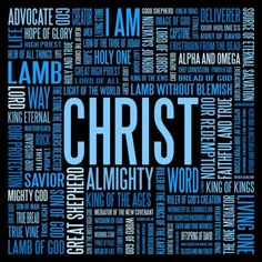 Christ is... and infinitely more! <3 Love The Lord, Gods Love, Bible Scriptures, Bible Quotes, The Great I Am, Names Of God, Jesus Names, Identity In Christ, Jesus Is Lord