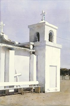 Our Lady of Guadalupe - Dean Mitchell - watercolor