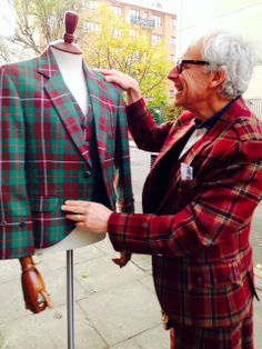Stunning tartan bespoke outfits available in any chosen tartan and in any style from kilts4All.com