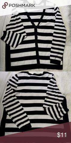 dfa80131ae1 Lane Bryant cardigan Black and white button down cardigan Lane Bryant  Sweaters Cardigans Black Cardigan
