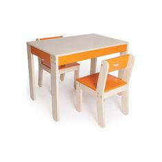 Found it at AllModern - Little One's Kids 3 Piece Table & Chair Set