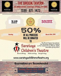 Did you make your reservations for tomorrow yet?? by saratogachildrenstheatre