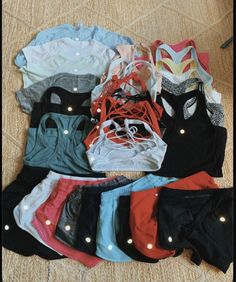 Cute Workout Outfits, Cute Lazy Outfits, Workout Attire, Teenage Outfits, Teen Fashion Outfits, Outfits For Teens, Sport Outfits, Trendy Outfits, Summer Outfits