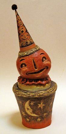 wish i could find some of this vintage stuff vintage halloween decorationsretro halloweenspooky - Antique Halloween Decorations