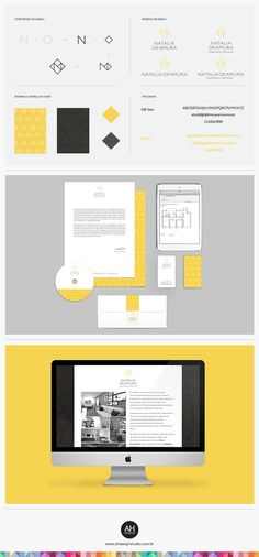 AHdesign Studio, Identidade Visual e Landing Page para Natalia Okamura…