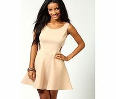 boohoo Ashley Cut Out Sides Skater Dress - stone azz53887 Skater dresses are a gorgeous shape on any figure, and we love this sleeveless dress with round neckline. It has a nipped in waist to show off your figure, with stunning side cut out details. The skir http://www.comparestoreprices.co.uk/dresses/boohoo-ashley-cut-out-sides-skater-dress--stone-azz53887.asp