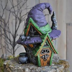 polymer clay witch - Google Search