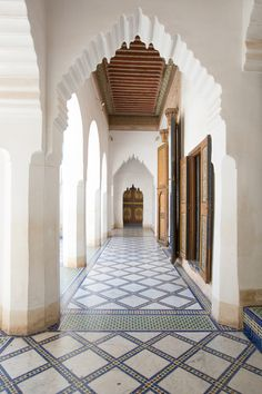 Bahia Palace, Marrakesh, Morocco