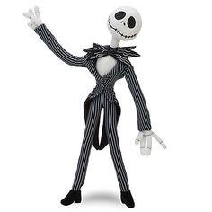 Disney Nightmare Before Christmas Jack Skellington 10 Plush Doll by Disney, http://www.amazon.com/dp/B0089NQ18K/ref=cm_sw_r_pi_dp_1JPCrb0J0BJPY