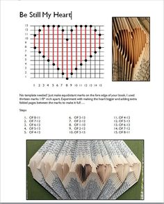 Rhymes With Magic: free patterns | Folded page <b>books</b> | Pinterest