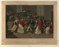 French Revolution Digital Archive: The Sitting of the Council of Five Hundred, at St. Cloud to whom Bonaparte having presented hims. Napoleon Quotes, Five Hundred, Digital Archives, French Revolution, Napoleon Josephine, St Cloud, Presents, Clouds, Human Rights