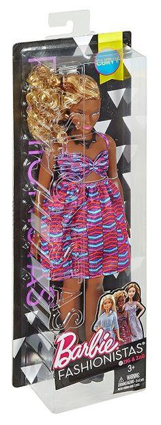 2017 Barbie Fashionistas Doll - 57 - Zig & Zag - Curvy.
